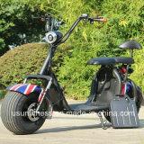 Enfriar el motor de 1000W a 80km de la Moda de Citycoco Scooter eléctrico de 2 ruedas, Adulto motocicleta eléctrica