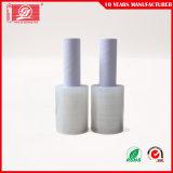 Película de estiramiento plástica de la maneta extendida de la base que lía