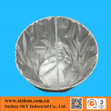 De ronde Zak van de Aluminiumfolie van de Lijm van de Bodem