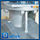 Клапан-бабочка нержавеющей стали Didtek с шестерней глиста