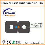 Venta caliente Cable de fibra óptica FTTH Drop GJXFH Cable