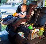 Coches de alta calidad de organizador del asiento trasero de gran capacidad de almacenamiento automático de verificación para el bebé