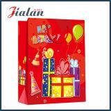 無光沢のラミネーションの休日の誕生日デザインカスタムロゴのペーパーチョコレート袋