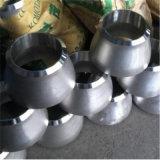 Reductor concéntrico roscado del acero inoxidable