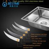 Bassin d'acier inoxydable d'accessoires de cuisine sous le bassin 4838