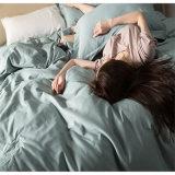 Van het Katoenen van 100% het Vastgestelde Beddegoed van het Blad Bed van het Hotel/het Blad van het Bed Microfiber Geplaatste/de Reeks van het Blad van het Bed Microfiber