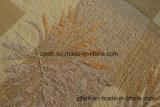 Tessuto del reticolo del foglio del jacquard del Chenille per il sofà (FTH31130)