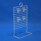 Salvar el estante de visualización contrario de la exposición del alambre del hierro (PHD8001)