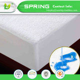 Algodón del surtidor de China y protector del colchón de la cubierta de colchón de la talla del gemelo del ácaro del Anti-Polvo del poliester