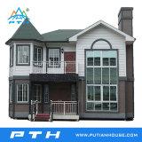 中国の製造の低価格のモジュラー軽い鋼鉄別荘の家