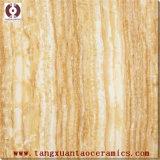 Azulejo de mármol esmaltado Polished amarillento de la pared del suelo de la porcelana (66002B)