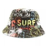 Chapéu cheio da cubeta da impressão das crianças do chapéu do chapéu da pesca