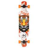 """O bordo cheio de Longboard do skate fêz 42.5*9.75 """" C002-1"""