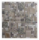 Moderne einfache Art, Wand-Dekoration, helle Glasmosaik-Fliese