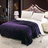 Reversible superior Dois--Um no cobertor do luxo do luxuoso de veludo do Berber