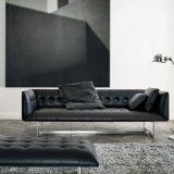 Холл Lighton ткань диван с ног из нержавеющей стали (F629-4-1)