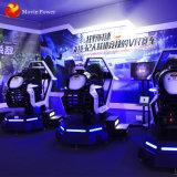 Centro de juego 9d Realidad Virtual paseos en coche de carreras de simulación Vr