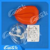 고품질 하나 방법 벨브 응급조치 소형 CPR 가면