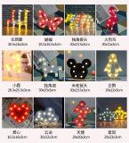 Il LED segna il segno con lettere durevole degli indicatori luminosi della batteria di colore dentellare