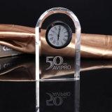 2015 Nuevo Diseño biselado Cristal Transparente Reloj (KS6030)