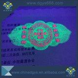 紫外線インク印刷の熱い押すホログラムのストリップのクーポン