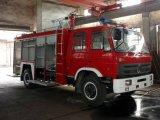 Chinese Dubbele Cabine 6, 000 van het Water Liter van Dongfeng van het Merk Vrachtwagen van de Brand van de Tedere