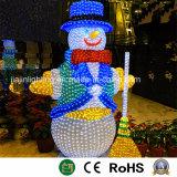 StandardSchneemänner der weihnachtszeichen-LED