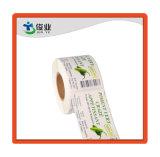 Durable elegante papel adhesivo/Etiqueta personalizada