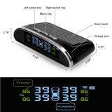 La energía solar TPMS con sensores externos y pantalla LCD