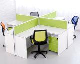 Stazione di lavoro moderna commerciale della persona del cerchio 4 della scrivania dell'incrocio (SZ-WS913)