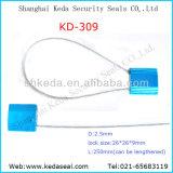 Desechables, contenedor de bloqueo de cable de alta seguridad de la etiqueta de cadena juntas (KD-309)