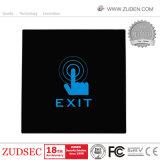 접근 제한 시스템을%s 접촉 스크린 Eixt 단추
