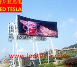 P6 de haute qualité à l'extérieur de l'écran vidéo LED mur / Affichage du panneau à LED RVB pour l'étape