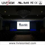 P3.91indoorレンタルLEDのビデオ壁スクリーン表示ショーの段階の会議
