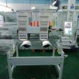Wonyo 2 Hoofden GLB/Vlakke/Kledingstuk Geautomatiseerde Machine 6 van het Borduurwerk 9 of 12 Kleuren