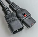 C13, C14/Удлинитель кабеля/кабеля (САА) (10A/250V) SAA