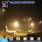Baodeは屋外の22m 1000W高圧ナトリウムの空港証明書が付いている高いマストライトをつける