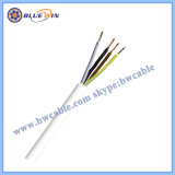 Cabo elétrico 5 Core cabo elétrico com 4 fios do cabo elétrico com 5 fios Cabo Quad Elétrico 3 condutores de fio elétrico de 3 núcleos de Fios Elétricos
