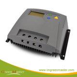 HS80D-8024 100 Amp Conversor de Energia Solar de LCD com o tempo e o controle de luz