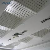 L'intérieur couvercle en métal perforé de panneaux muraux de plafond pour la décoration