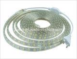 Indicatore luminoso di striscia impermeabile di tensione SMD 5050 220V LED