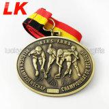 昇進のギフトのための安いカスタム金属のクラフト賞のスポーツメダル