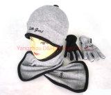 Торговая марка полярных флис Beanie шарфа вещевого ящика,