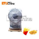 Os chips de batata frita a linha de produção para venda