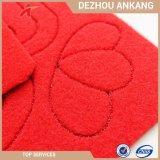 Красный цвет цветок или шаблон красоты резные двери коврик