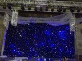 Indicatore luminoso Twinkling della tenda del contesto della stella della decorazione LED di cerimonia nuziale