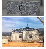 Montagem fácil leve à prova de fogo poliestireno estruturais painéis de parede/painéis