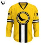 Maglia Da Allenamento Sportiva Custom Team Ice Hockey Wear Blank Con Lacci