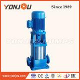 Pompa verticale a più stadi del tubo, pompa della puleggia tenditrice di lotta antincendio, pompa ad acqua ad alta pressione dell'acciaio inossidabile