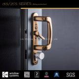 Portello scorrevole di alluminio pesante standard dell'Ue con isolamento acustico eccellente